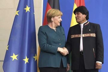 Merkel pide diálogo a Bolivia y Chile para solucionar diferendo
