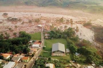 Brasil: Avalancha sepulta varias casas