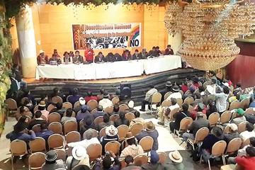 """Inicia en Oruro la campaña por el """"No"""""""