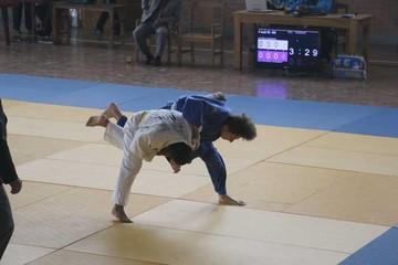 Judocas de Bolivia compiten en la Capital