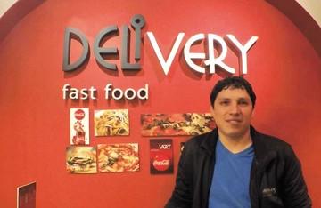 Delivery Express: las pizzas en cono arriban al centro con una sucursal