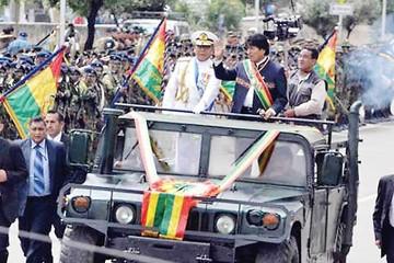 Presidente crea Comando Antiimperialista en Oruro