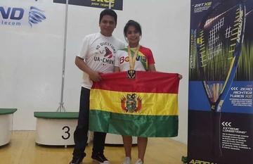Raquet: Chuquisaca logra dos medallas en Mundial