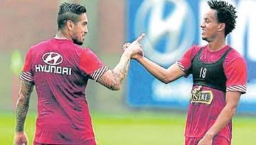 Perú con dos lesionados