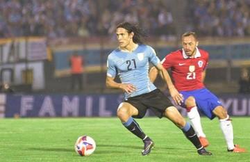 Uruguay golpea a Chile