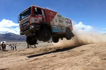 El Dakar 2016 tiene a Orinoca como parte de su recorrido con camiones