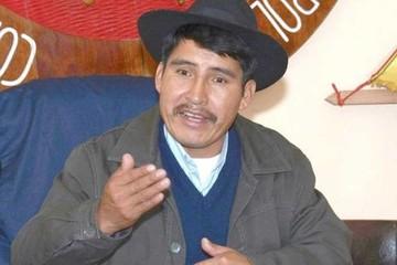 Fondioc: Aprehenden a Damián  Condori y lo trasladan a La Paz