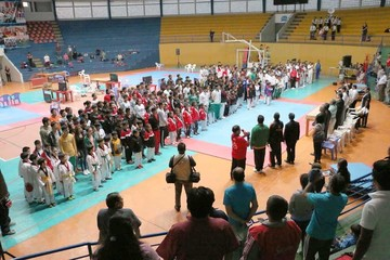 Taekwondo inaugura Nacional en la Capital
