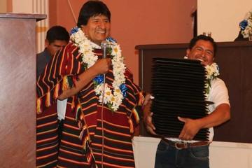 Evo asegura Bs 30 millones para varias obras en Sucre