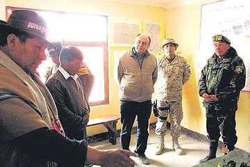 IGM verificará denuncia de  remoción de hito con Chile