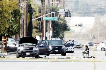No descartan terrorismo en ataques de California