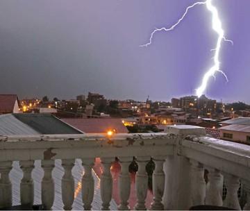 En Sucre un 80% de las lluvias llega con rayos