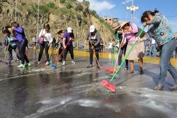 Aceleran obras en parque multipropósito para feria
