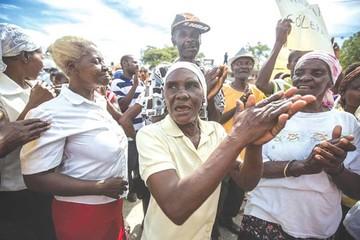 Haití: Las víctimas del cólera piden una indemnización