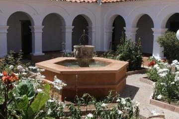 Rehabilitan el tercer patio del convento Santa Teresa