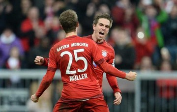 Bayern gana ronda inicial