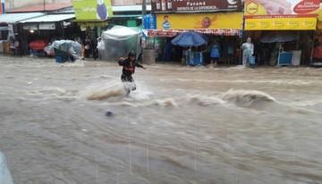 La lluvia vuelve a generar susto en los sucrenses