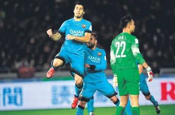 Luis Suárez lleva  al Barcelona a la final del Mundial