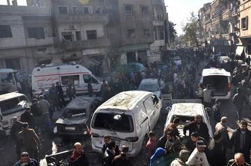 Al menos 45 muertos por bombardeos rusos contra zonas del norte de Siria