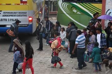 No hay control satelital para buses en la Capital