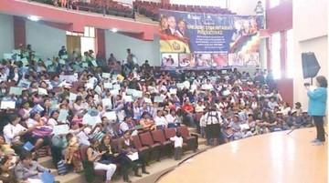 Alfabetizan a más de 4.000 personas en Chuquisaca