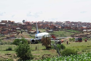 Derrape de avión causa zozobra