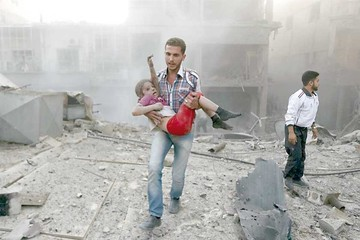 Siria: Bombardeos siegan la vida de unos 14 civiles