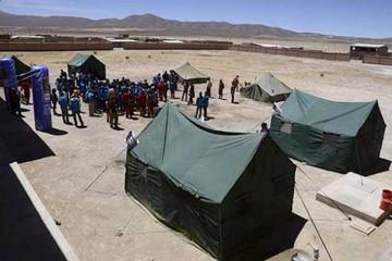 Albergues, áreas de camping y parqueos se instalan en Uyuni