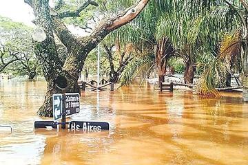 Baja nivel de ríos en Argentina y Uruguay pero sube en Brasil