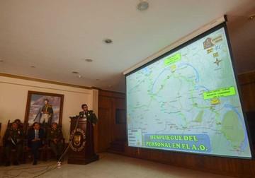 Gobierno presenta plan de seguridad de cara al Rally