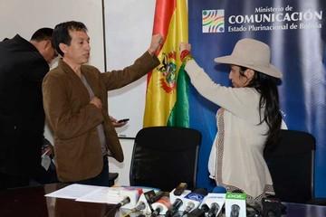 Paco juramenta a un nuevo viceministro