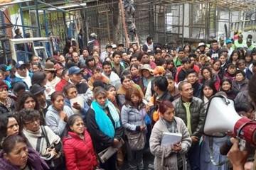 Uyustus: Comerciantes piden condonación de sus deudas