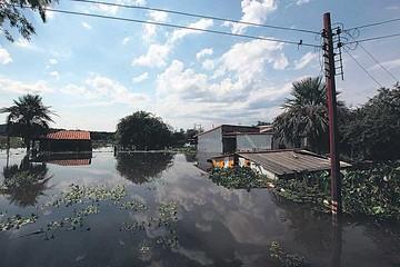 Miles de personas viven en refugios en Paraguay