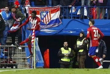 Atlético Madrid desplaza al Barça