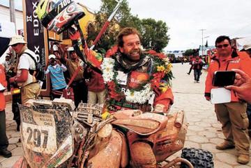 Nosiglia, el mejor boliviano en segunda etapa del Dakar