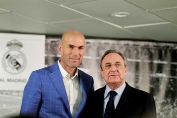 El Real Madrid  destituye a Benítez  y elige a Zidane