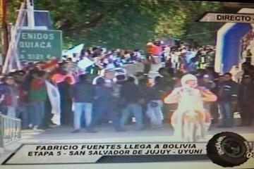 Bolivia ya disfruta del Dakar con el paso de los competidores