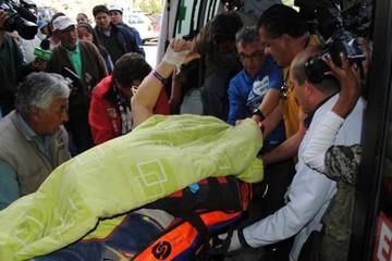 Piloto fue llevado de emergencia a  hospital de La Paz