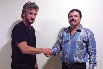 """""""El Chapo"""" se reunió con el actor Sean Penn mientras estaba en fuga"""