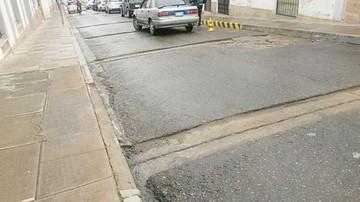 El recapado de calles continúa paralizado