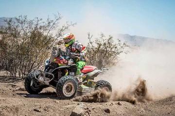 Nosiglia continúa relegado y lejos del podio en quads