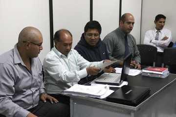 Jueces envían a ex fiscal  Quispe al penal San Roque