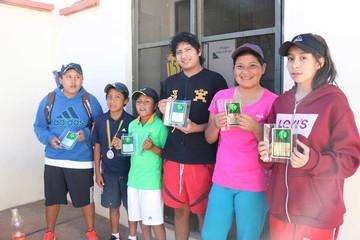 Chuquisaqueños celebran en Torneo Nacional de Tenis