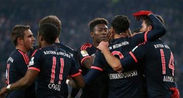 Bayern gana de visitante