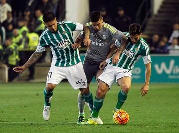 Madrid resigna puntos ante Betis