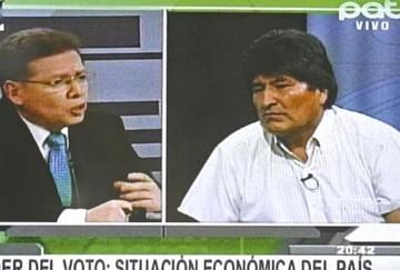 """Morales califica de """"'antipatriotas""""' a los que usan las telefónicas Tigo o Viva"""