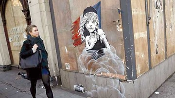 Banksy denuncia el maltrato a inmigrantes