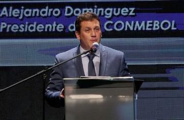 El paraguayo Alejandro Domínguez, elegido presidente de la Conmebol