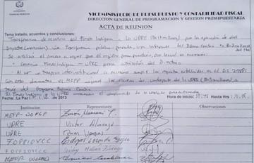 Un Ministerio y la UPRE habrían presionado al Fondioc para desembolsar Bs 17 millones con fines electorales
