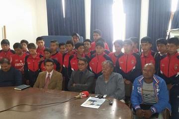 Torneo nacional de fútbol infantil se disputa en Sucre